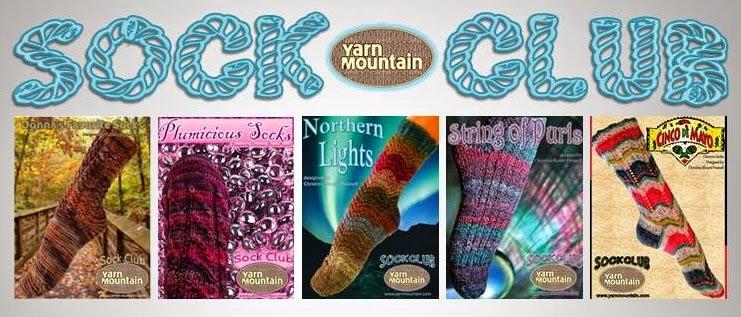 The Knitting Lodge Sock Club 2014