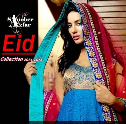 Sanober Azfar Eid Collection 2014