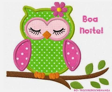 Boa Noite! Semana produtiva e abençoada! | =(^.^)=Rô Tricô ...