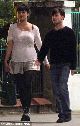 Daniel Radcliffe with Girlfriend