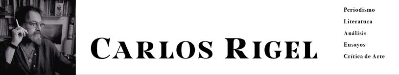 DIARIO PERSONAL - CARLOS RIGEL