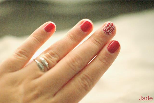 nail art keith haring