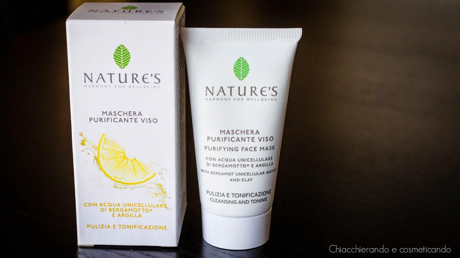 Maschera purificante viso - Nature's