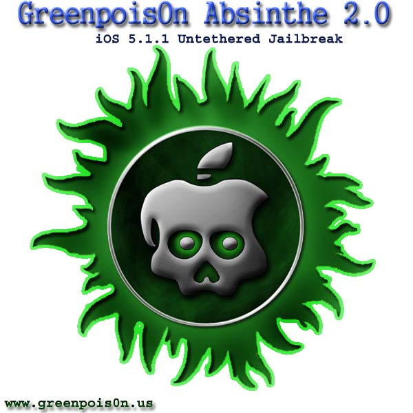 Jailbreak iOS 5.1.1 Untethered Using Greenpoison Absinthe 2.0 For All