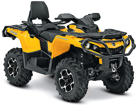 2013 Can-Am Outlander MAX XT 500 ATV pictures. 480x360 pixels