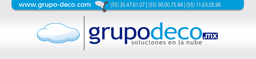 Grupo DECO Venta Software, Adobe, Apple, Corel, Autodesk, Microsoft, Office 365, Symantec, Wacom.