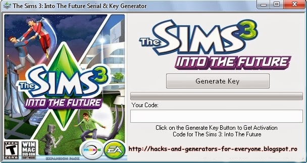 The Sims 3 In The Future KeyGen / Crack.
