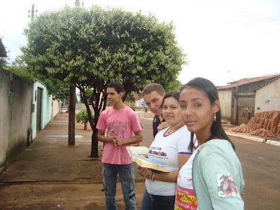 Missão na Saúde Pública - JM de Goiás realiza gesto concreto em sintonia com a Campanha da Fraternidade 2012.