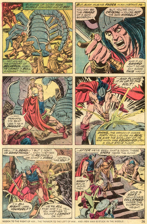 Conan the Barbarian (1970) Issue #52 #64 - English 16