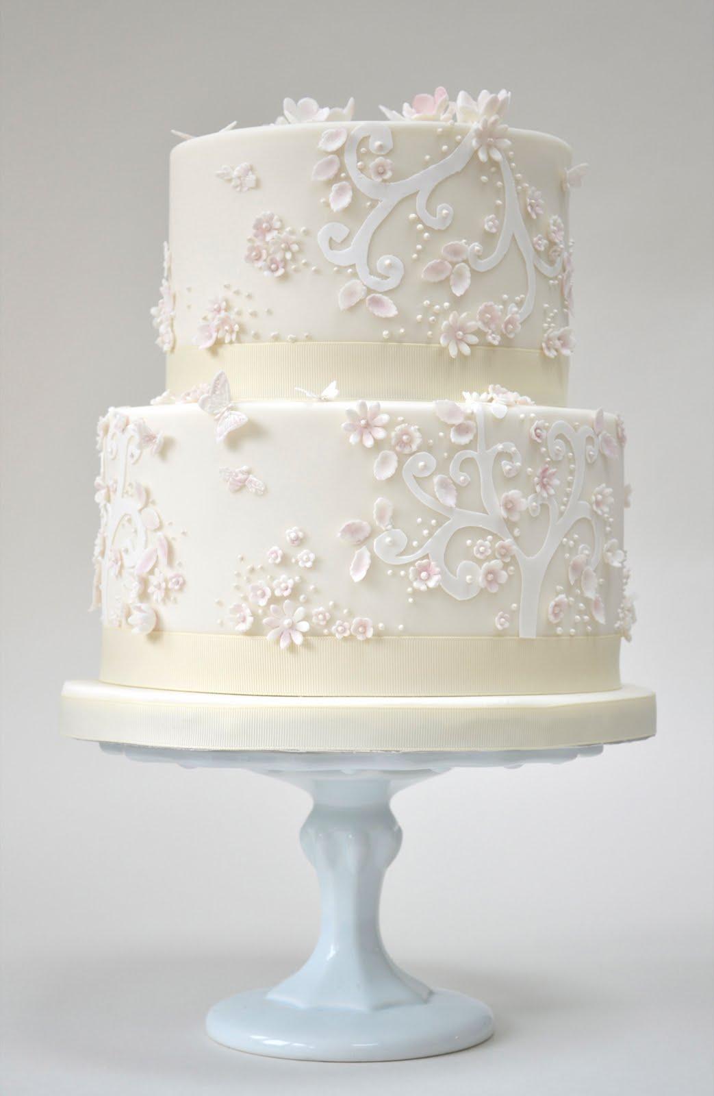 Rosalind Miller Cakes Pink Fairytale wedding Cake