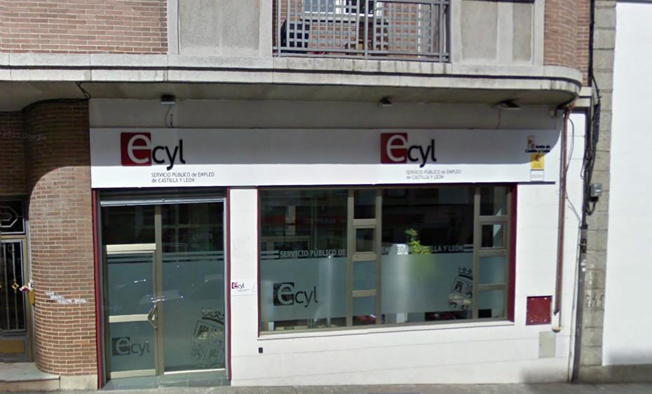 oficina del paro fachada en Béjar