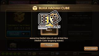 Trik Cara Ampuh untuk mendapatkan Hadiah dengan cara membuka lucky cat cube get rich 2015 september terbaru.