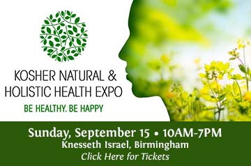Kosher Health Expo POSTPONED To Dec. 8