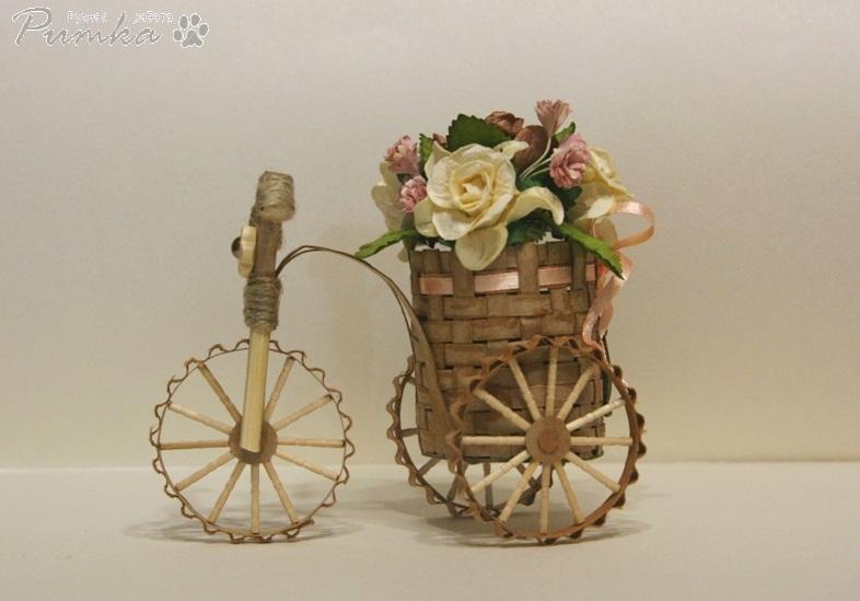 Декоративные корзины для цветов своими руками