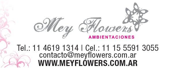 MEY FLOWERS Ambientaciones