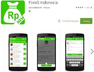 Cara Mendapatkan Pulsa Gratis Lewat FreeB Indonesia