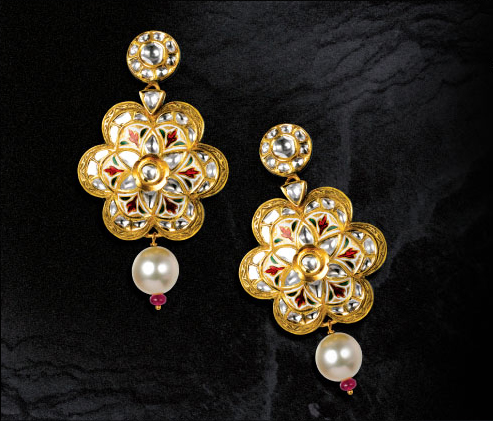 Roops Collection Polki Gold Jewellery 2011