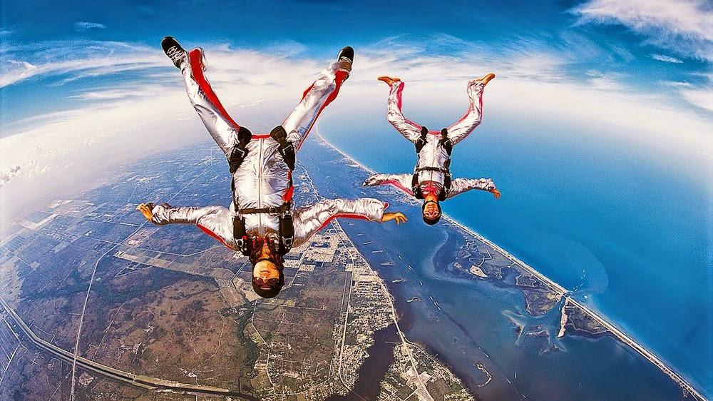 En Güzel Paraşütle Atlama Resimleri