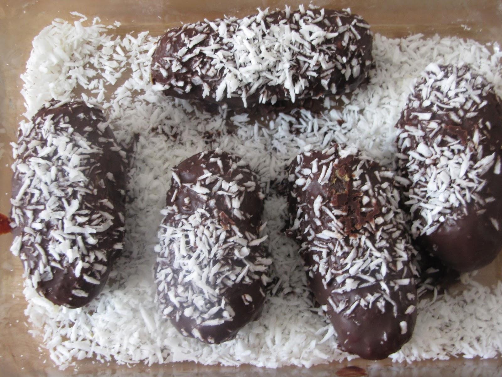 Apricot-Coconut Chocolate Bites