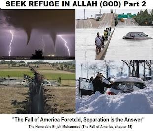 "Student Min.Yahcolyah Muhammad Speaks: ""Seek Refuge in Allah (God)"" Part 2"