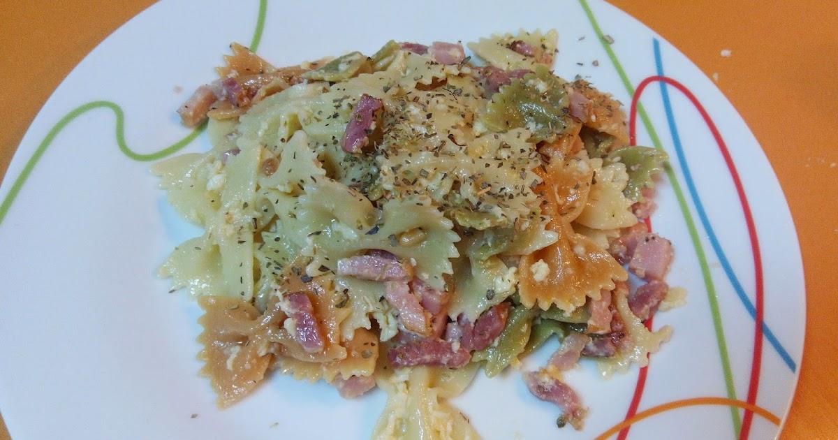 cocina f cil y sana lazos de colores con bacon