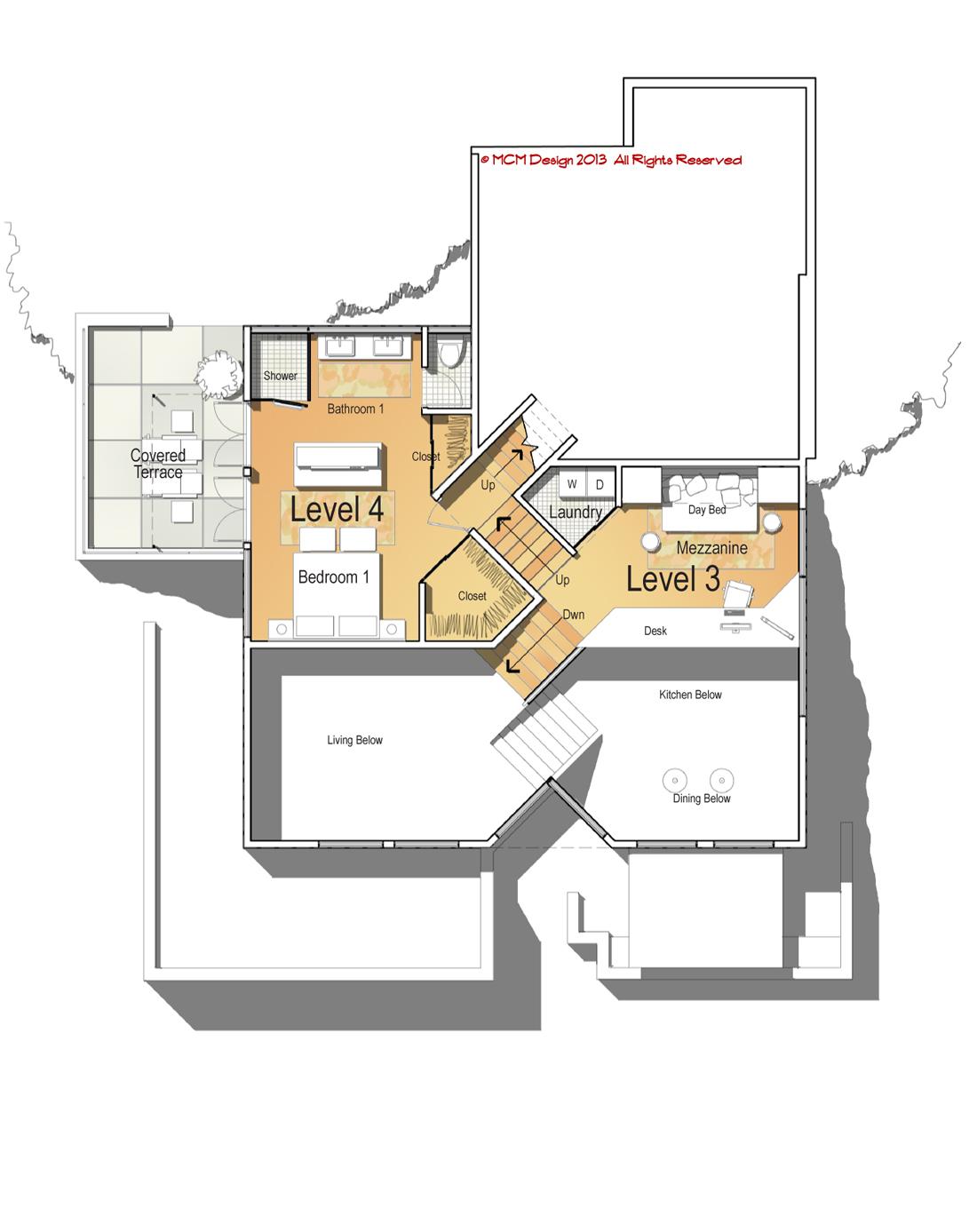Mcm Design Contemporary House Plan 5