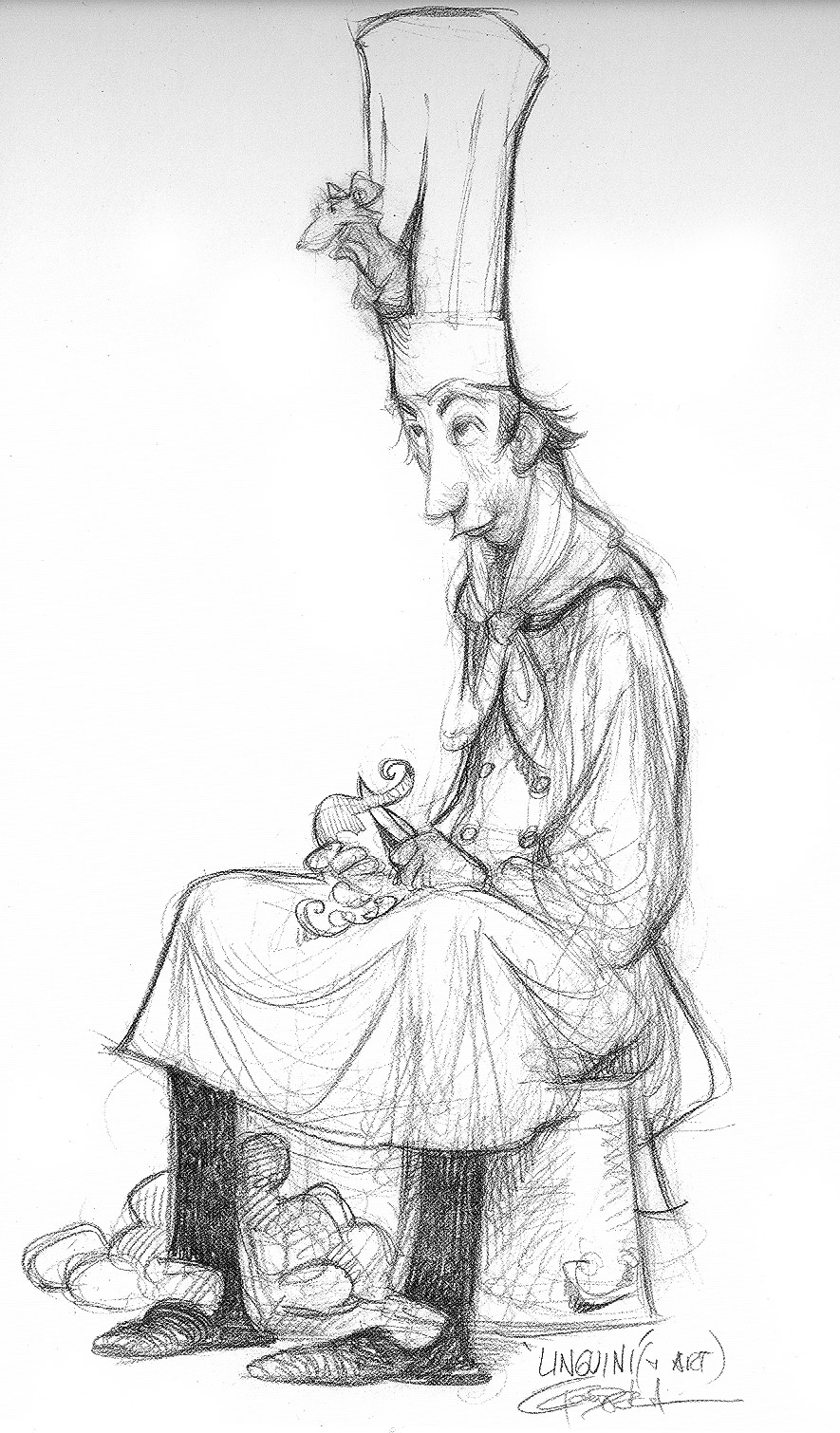 Character Design Library : Living lines library ratatouille concept art