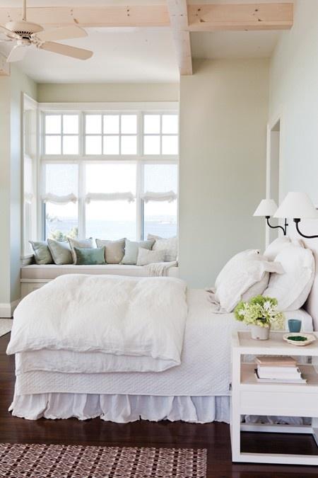 Coastal style elegant bedrooms for Coastal cottage bedroom ideas