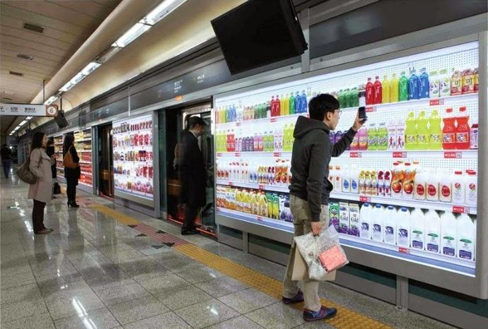 Toko Virtual Pertama Di Dunia Ada di Korea Selatan