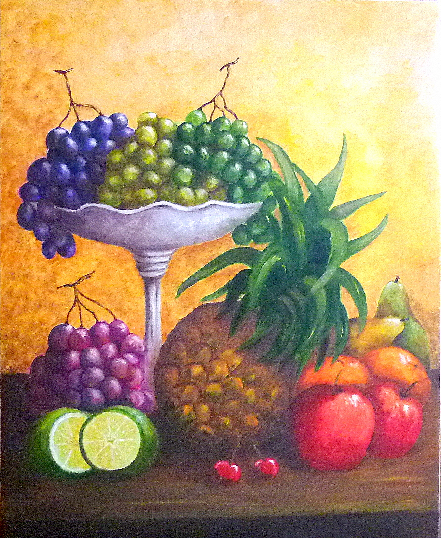 Cecilia mata serie bodegones de frutas oleo2011 - Fotos de bodegones de frutas ...