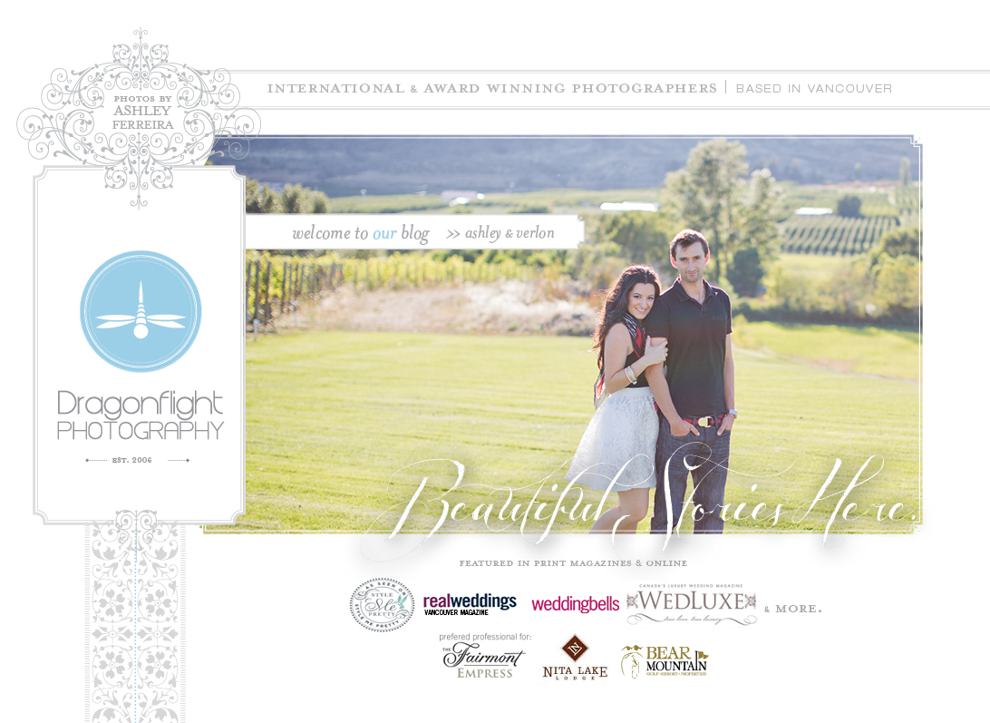 Dragonflight Photography Vancouver, Langley, Victoria and Destination Wedding Photography