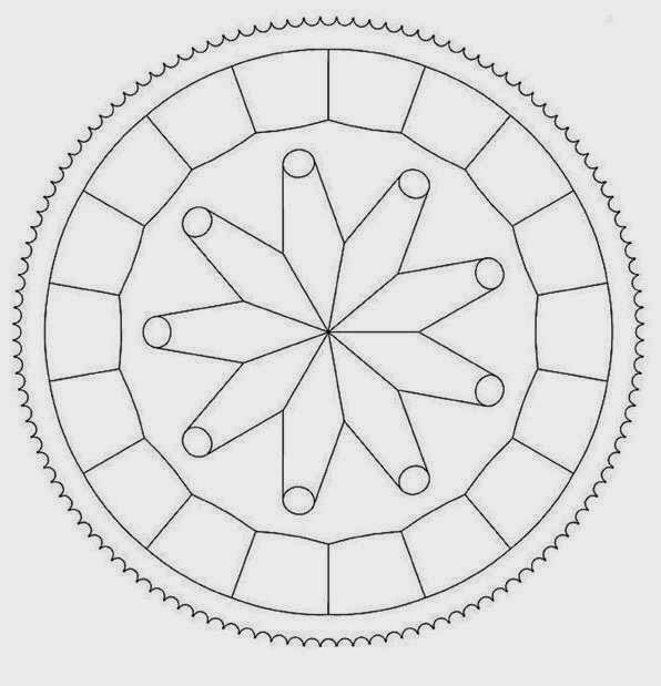 149 Circle Mandala Coloring Pages For Beginner Mandala Circles Coloring Pages