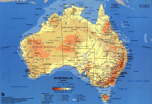 Australia Map 2015