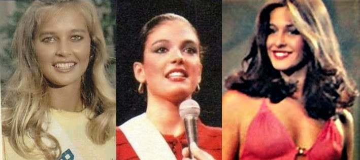 Misses Universo Brasil 1981,1982 e 1983