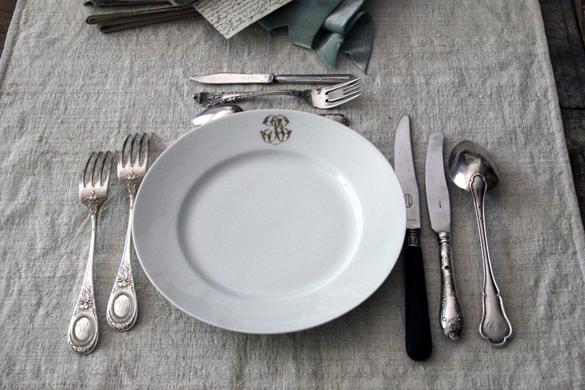 La Poule Qui Roule: L\'art de la Table—French table setting and manners