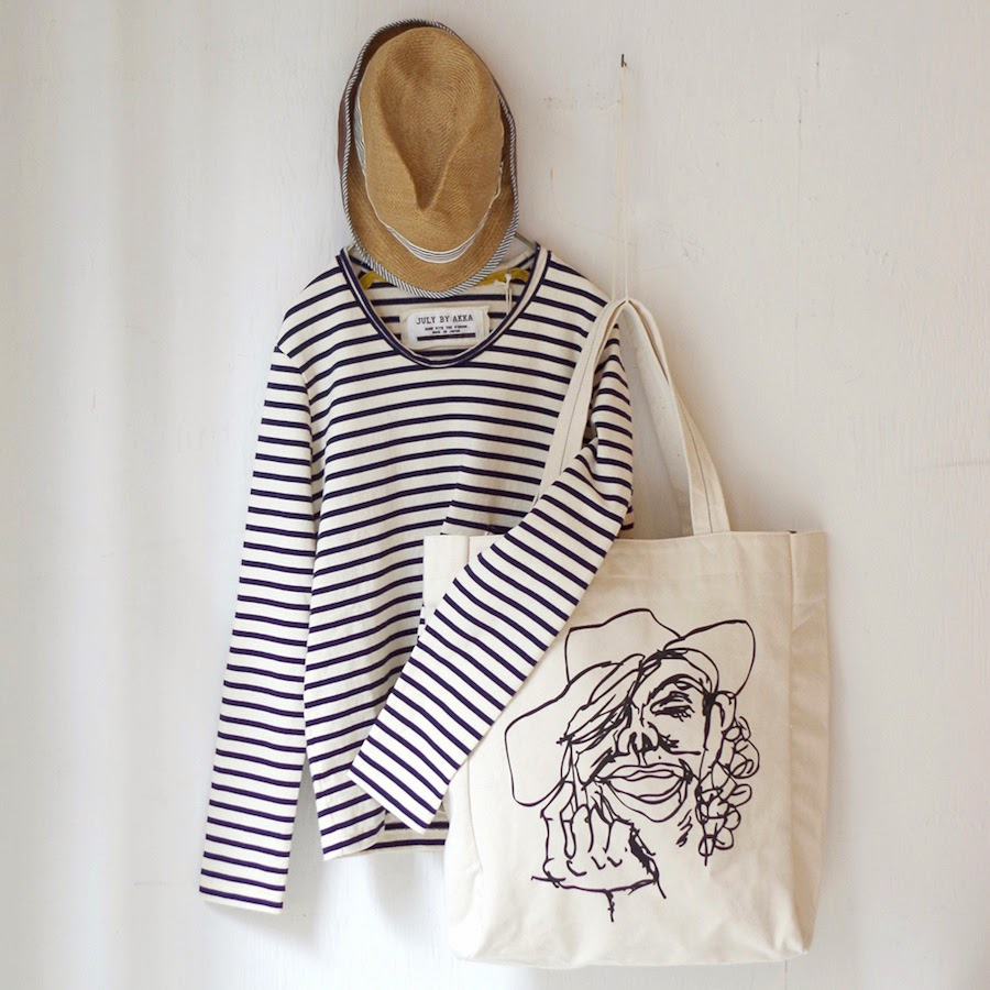 Big canvas tote
