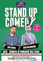 Stand-Up Comedy Sambata 28 februarie Bucurest8