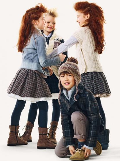moda niños otoño invierno 2011 2012