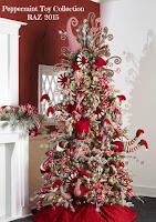 2015 RAZ Christmas Trees