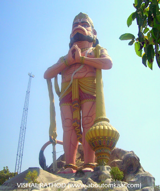 108 feet Hanuman Statue at Sitamarhi , Uttar Pradesh