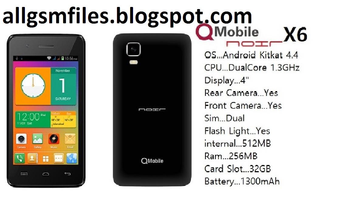 QMobile X6 Mt6571 Nand firmware - flash file