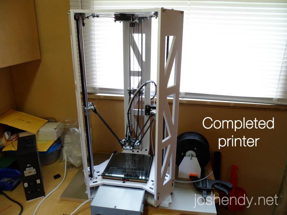 diy 3d printing process of building a delta 3d printer. Black Bedroom Furniture Sets. Home Design Ideas