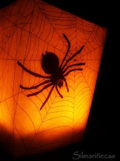 Telaraña para halloween-