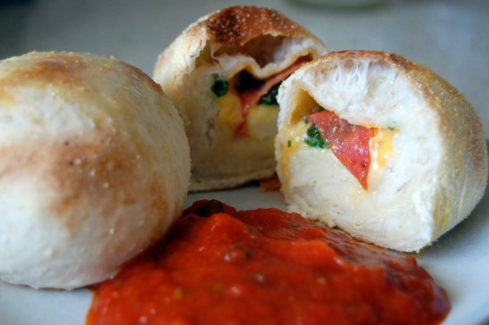 pizza balls 1 ball of pizza dough i used trader