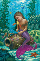 discovery mermaid card