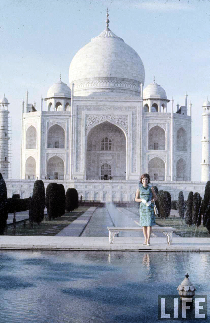Jackie Kennedy visits India, 1962 ~ vintage everyday