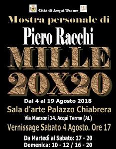 FILMATO DELLA PERSONALE: MILLE 20 X 20