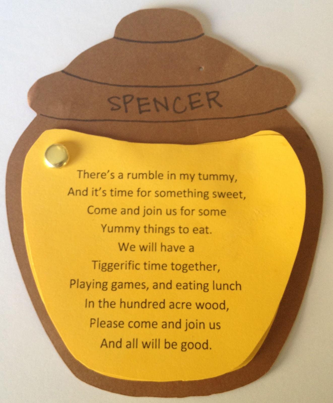 Winnie the Pooh Birthday Party Invitations by Simplistically Sassy