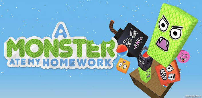 a monster ate my homework apk