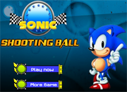 Sonic Shooting Ball